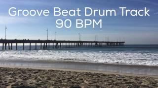 groove beat drum track 90 bpm