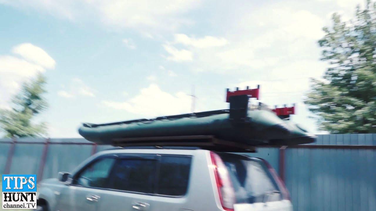Надувная пвх лодка Hunter 330 A - тест-драйв - YouTube
