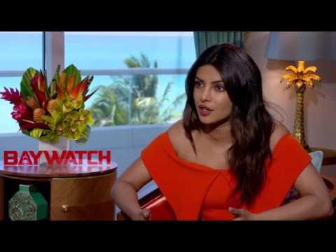 Priyanka Chopra Baywatch Interview