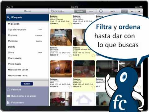 Lanza la primera aplicaci n para buscar piso en espa a exclusiva para ipad youtube - Aplicaciones para buscar piso ...