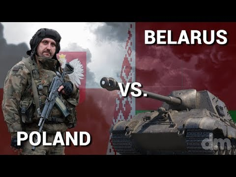 Poland vs Belarus - Military Power Comparison 2018