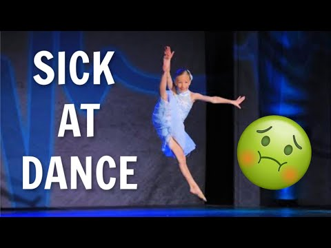 Sick with the flu at dance competition!