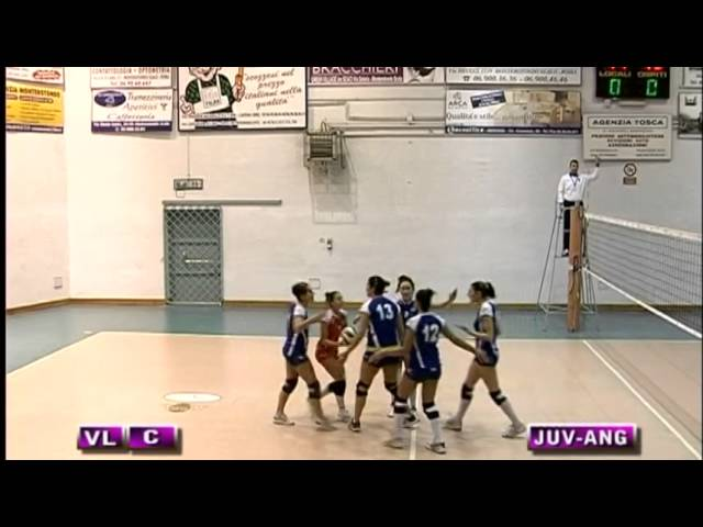 Pro Juventute vs Anguillara - 1° Set