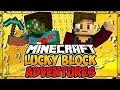 """""""Unlucky Start""""   LUCKY BLOCK ADVENTURES #1 (Minecraft Lucky Block Survival)"""