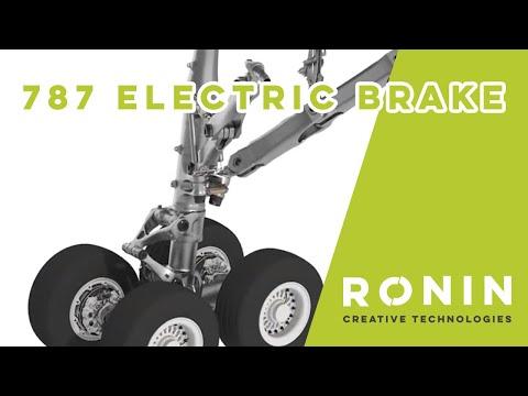787 Electric brake