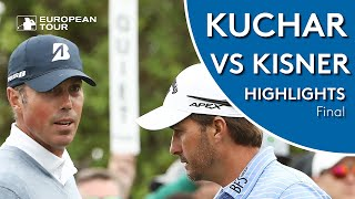 Matt Kuchar vs Kevin Kisner Highlights | Final | 2019 WGC-Dell Technologies Match Play