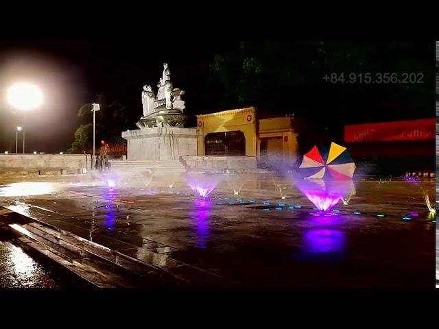 Sàn nhạc nước nghệ thuật quảng trường trung tâm Tp.Hà Giang