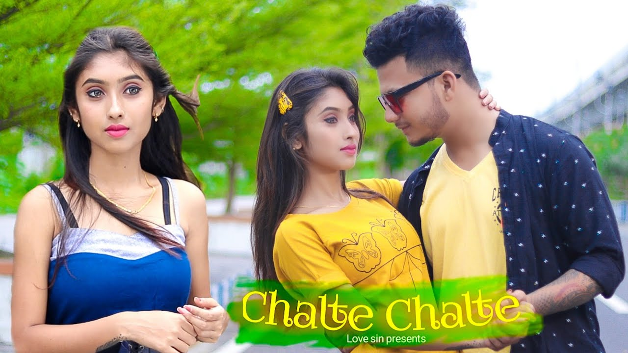 Chalte Chalte - Mohabbatein || Ft.Priyasmita & Ripon || cute love story || Love sin