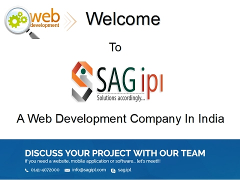SAGIPL.com - Web Development Company in India