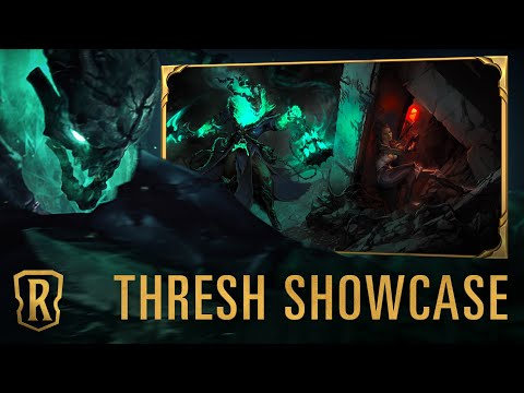 Thresh Champion Showcase | Gameplay - Legends of Runeterra
