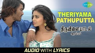Theriyaama Parthuputen with Lyrics | Thiruvilayadal Arambam | Dhanush | D.Imman | Ranjith | Sujatha