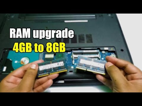 Upgrade Laptop RAM Easily