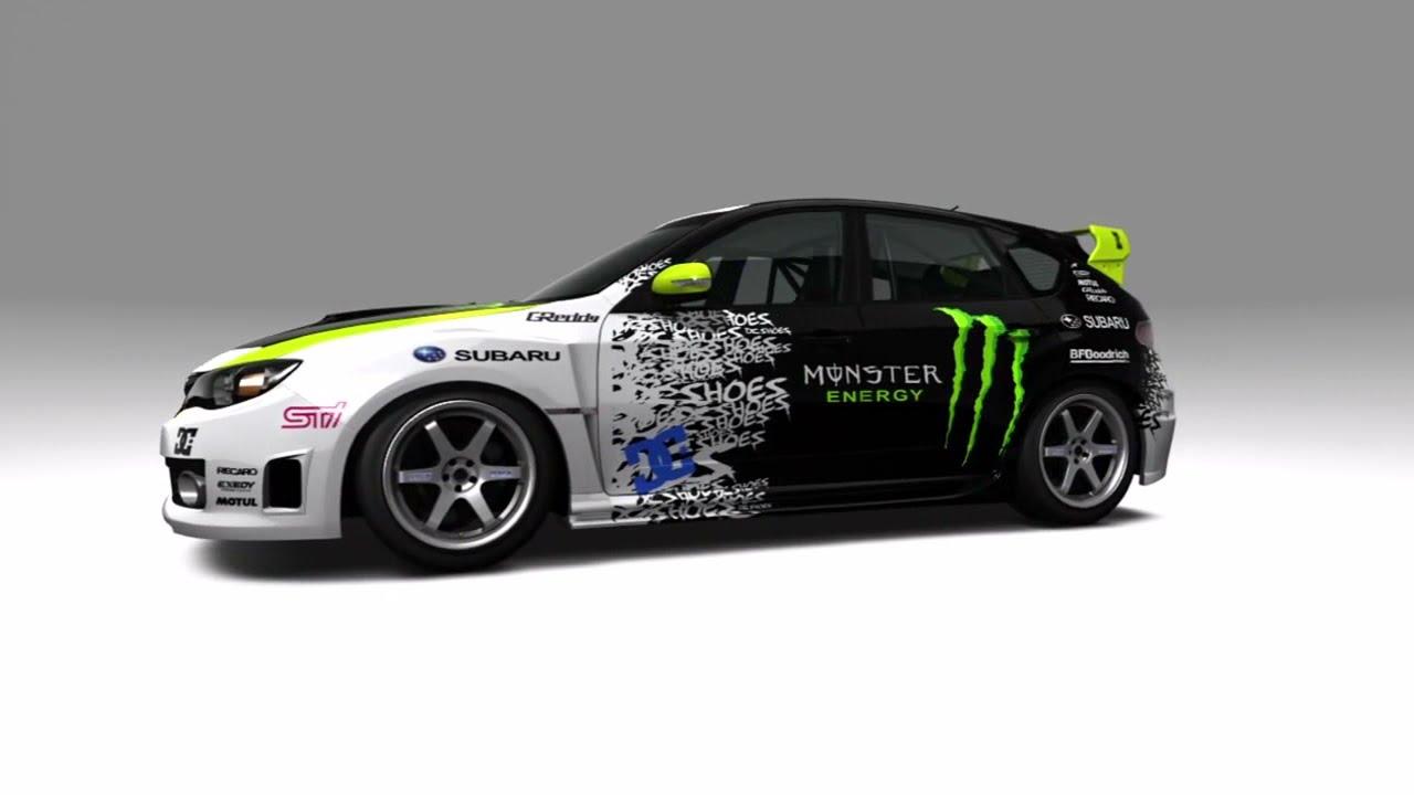 forza motorsport 3 speed painting ken block 39 s subaru. Black Bedroom Furniture Sets. Home Design Ideas