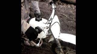 80 cc and 150cc dirt bikes mudding plus wipe out