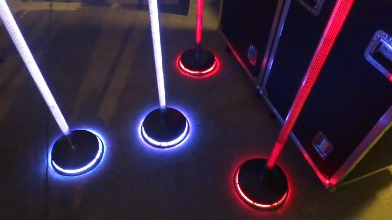 4 rebel neon ion custom mic stand prototypes vid 2 youtube. Black Bedroom Furniture Sets. Home Design Ideas