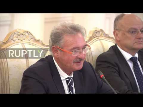 Russia: Luxembourg's FM praises Lavrov for brokering ceasefire in Syria