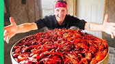 Boiling 10,000 Crawfish!!! Epic Louisiana Crawfish Throw Down in Cajun Country!!