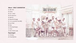 Girls' Generation 소녀시대 少女時代 Japanese Songs Collection(1/2)