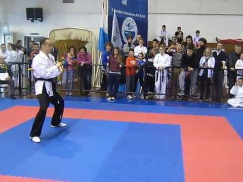 IAKSA WORLD CHAMPIONSHIPS 2013 SAN MARINO REPUBLIC FREESTYLE WITH WEAPONS Dr Srdjan Brkovic SERBIA