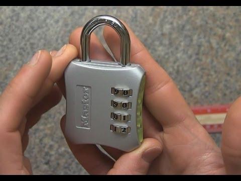 How To Set Your Tsa Search Alert Lock Doovi