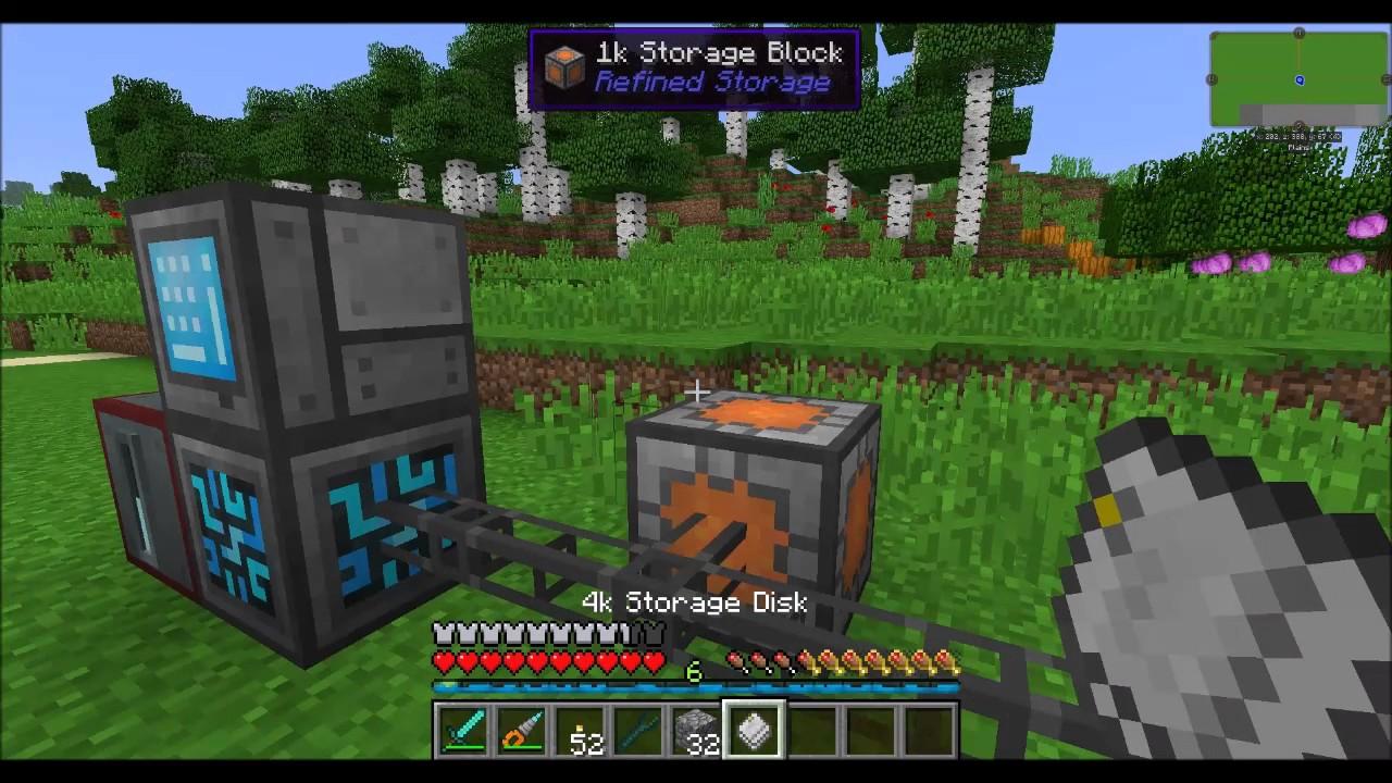 Mod Spotlight Refined Storage Part1