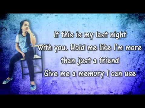 All I Ask Lyrics Adele Cherrie Ann Cover - YouTube
