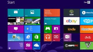 100 Windows 8 Tips and Tricks   8   How To Change The Size of A Tile
