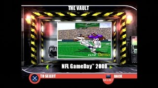 PlayStation Underground Jampack Winter 99 Gameplay Part 5 - NFL Gameday 2000