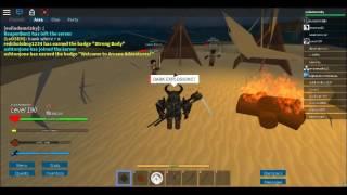 T 4 Dunkle Schlagkraft, T 4 Dunkle Explosion   ROBLOX Arkane Abenteuer