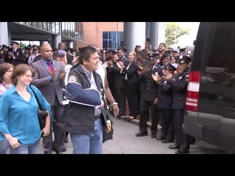 CBS2 Exclusive: Officer Shot In Brooklyn Speaks