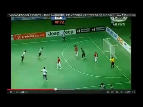 Cool Spinning Indoor Soccer Goal in Brazil - YouTube