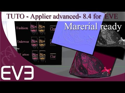 Applier advanced multiple button and material For EVE 8.4 mesh body