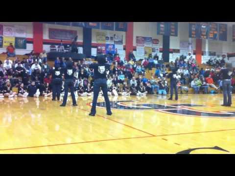 Georgetown college step team
