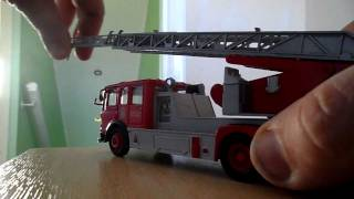 Red Iveco Corgi Cardiff City Wales Toy Fire Engine Diecast