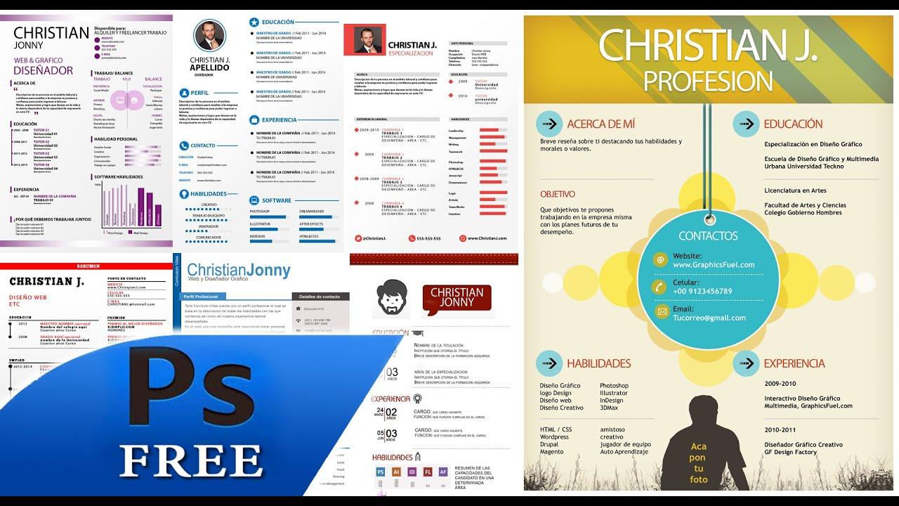 resume curriculum vitae template