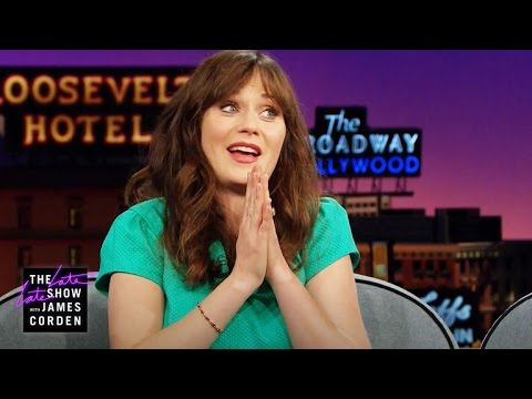 Zooey Deschanel on Rapping in Front of Justin Timberlake