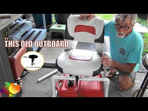 DIY PVC SEAT PEDESTAL & MOUNT