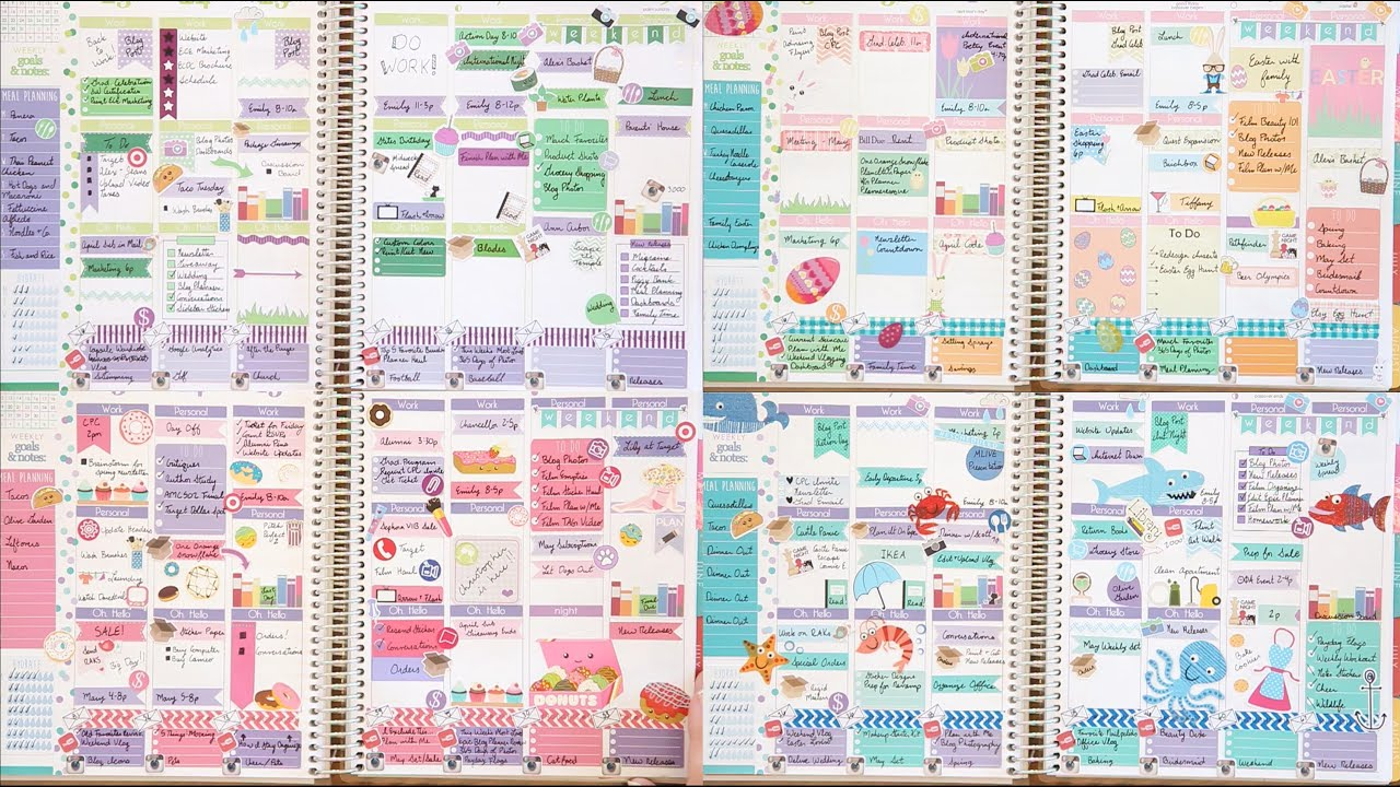 Erin Condren Design Ideas