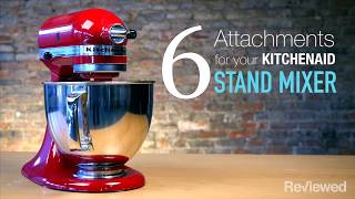 6 attachments that will completely transform your KitchenAid stand mixer