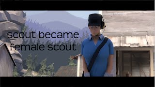 scout became  female scout