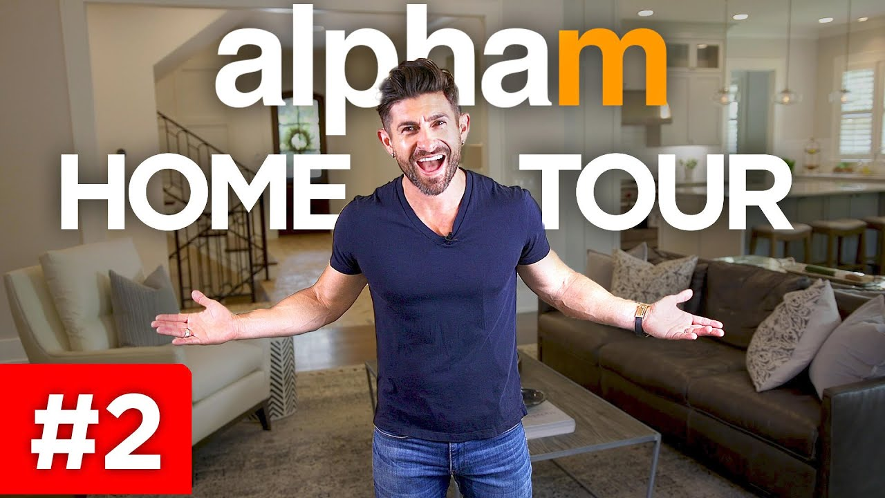 alpha m. HOME TOUR #2 | Come In & Check Out My New House!