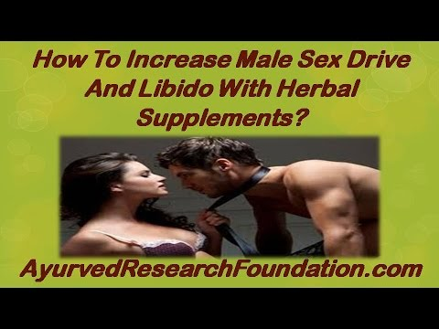 Improving sex drive in men