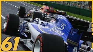 OFF TO A BRILLIANT START IN AUSTRALIA! - F1 2017 Sauber Career Mode  1/20  S4. Episode 61
