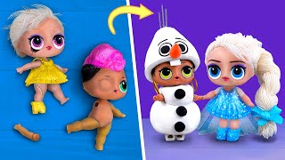 Never Too Old for Dolls! 10 Frozen LOL Surprise DIYs