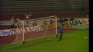 Magyarország - Görögország 1987.10.14 Détári Lajos gólja