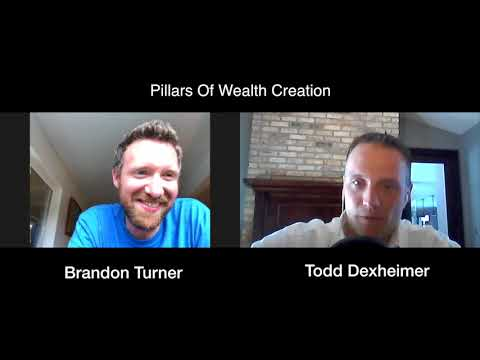 POWC #56 - Brandon Turner of Bigger Pockets is sitting on the beach!