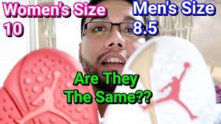 women's size 8 in mens jordans