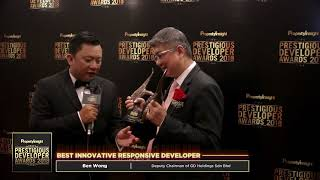 Pipda 2018 Property Awards : Gd Holdings Sdn Bhd - Best Integrated Township Development