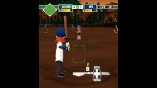 Backyard Baseball 09 no MLB Season Games 1 and 2