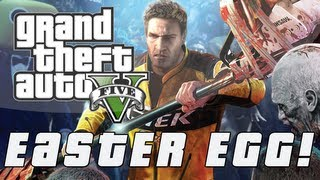 "Grand Theft Auto 5 | Dead Rising 2 ""ZOMBREX"" Easter Egg (GTA V)"